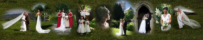 The Weddings gallery contains a selection of Ann's wedding photography